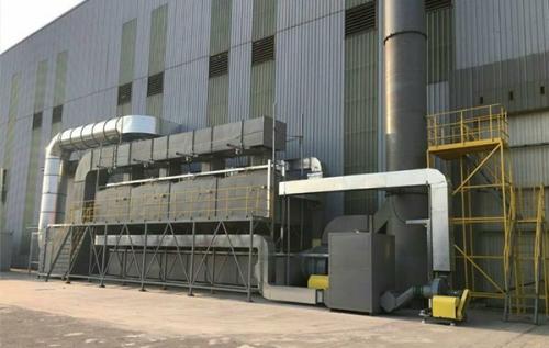 VOCs催化燃烧废气处理设备